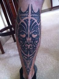 maori back leg beautiful tattoos leg