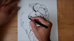 lion finger tattoos lion tattoo drawing youtube