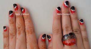 nails context freehand cloud look