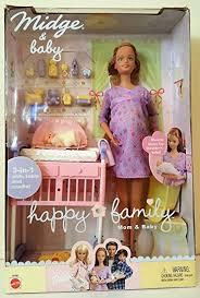 amazon barbie happy family pregnant midge u0026 baby toys u0026 games