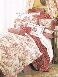 Ideas For Toile Quilt Design Passione Toile De Jouy Country Bedding Toile And Bedrooms