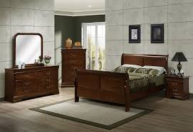 329 renaissance brown cherry sleigh bedroom collection 329 brown