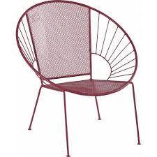 siege jardin fauteuil isos marque hanjel siège de salon de jardin façon