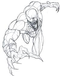 venom spiderman enemy coloring pages printable womanmate