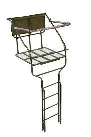 millennium l220 18 ft ladder tree stand tree