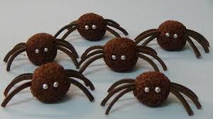 halloween chocolate balls chocolate spiders youtube