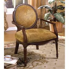 furniture america valer traditional style fabric padded accent