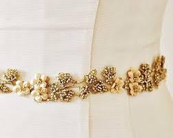 wedding dress belts wedding dress sash etsy