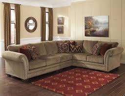 Ashley Raf Sofa Sectional Ashley 23800 55 46 67 Grecian 3 Piece Sectional Sofa With Left Arm