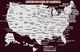 united states map with state names and major cities us map of states major cities united states map with state names