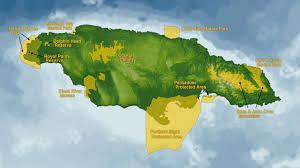Map Of Kingston Jamaica Jamaica U0027s Portland Bight Bight Refers Just To The Body Of Water