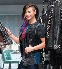demi lovato hair extensions demi lovato launches line of brightly colored extensions with an