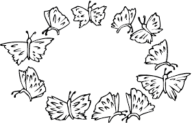 pictures of flowers and butterflies to color images of flowers and