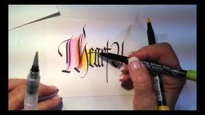 blend koi markers like watercolors rainbow color demo ft lisa