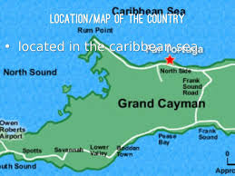 Grand Cayman Map Cayman Islands By Ramona Miller