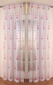 Seville Curtains Slot Top Voile Curtain Panel White Free Uk Delivery Terrys Fabrics