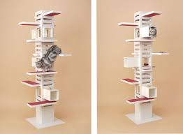 5 stylish modern cat trees for design lovers styletails