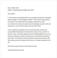 example marketing cover letter fresh cover letters for marketing