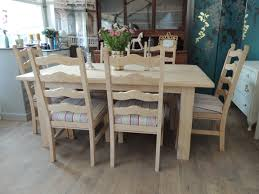 Dining Table And Six Chairs 239lovely Rustic Farmhouse Style Dining Table With Six Chairs