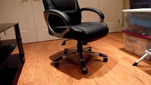 Executive Brown Leather Office Chairs Boss Bonded Leather Executive Office Chair Youtube