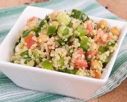 cuisiner le saumon fumé taboulé quinoa saumon fumé cuisine az