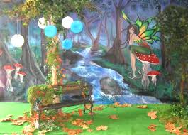 Forest Backdrop Backdrop Enchanted Forest 4mtrx3mtr