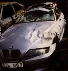 bmw denmark denmmark bmw auto accidents rollover pictures and photos
