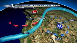 Seattle Weather Map by Weather Blog Storm Direction Versus Wind Direction