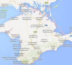 Google Russia by Google Maps Redraws Boundaries For Crimea Including It As Part Of