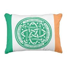 design your own custom gift create your own t shirt zazzle create your own celtic knot shamrock green irish outdoor pillow