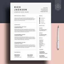 professional resume templates free cv professional template cv template word or mac pages instant