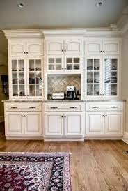 Finished China Cabinet Nice Idea For Those Ugly Builtins Form - Kitchen hutch cabinets