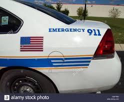 Nashville Flag American Flag And 911 Detail On A Nashville Metropolitan Police