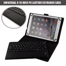 Leather Keyboard Tablet 10 Inch Universal 9 9 7 10 1 Inch Tablet Portfolio Leather W Detachable
