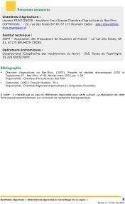 chambre d agriculture nord fiche technique autre production septembre pdf