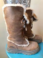 s yeti boots s suede lace up mukluks yeti boots ebay