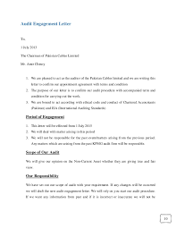 cover letter auditor appointment letter format for chartered accountant chartered
