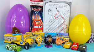 cars 3 crew u0026 the emoji movie peeps read collector cards open