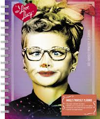 i love lucy weekly and monthly planner 2017 day dream