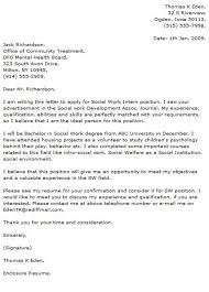 social work cover letters samples residential worker cover letter