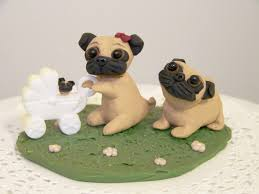 Halloween Wedding Cake Toppers Pug Cake Topper Must Remember To Buy This Pinstracted 3
