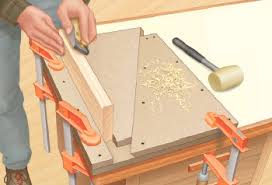 How To Build A Bench Vise Build A Plywood Shop Made Wedge Style Trapezoidal Bench Vise