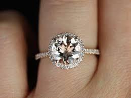verlobungsring gr e sweetheart größe kubian 14kt gold und diamanten morganit