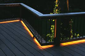 Recessed Deck Lighting Dining Room Stylish Led Deck Lighting Pictures Deckorators