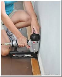 Hardwood Floor Gun Installing Hardwood Floors Sand And Sisal