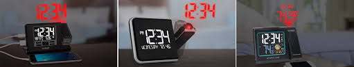 Clock That Shines Time On Ceiling by Projection Alarm Clocks Time Browse Products