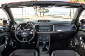 beetle volkswagen black 2013 vw beetle convertible black leather interior eurocar news