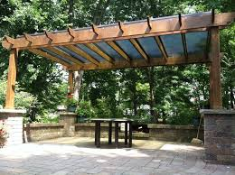 Pergola Plastic Roof by Pergola Shade Cover Canopy Bright Covers