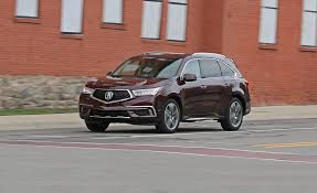 acura jeep 2017 acura mdx in depth model review car and driver