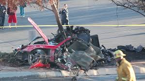 exclusive video paul walker porsche carrera gt car crash video